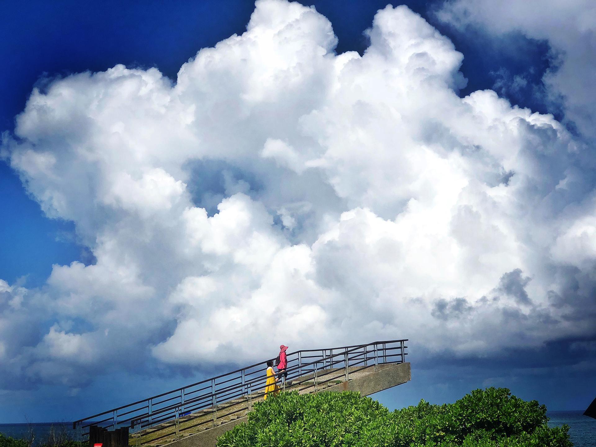 加路蘭,太平洋的風徐徐吹來
