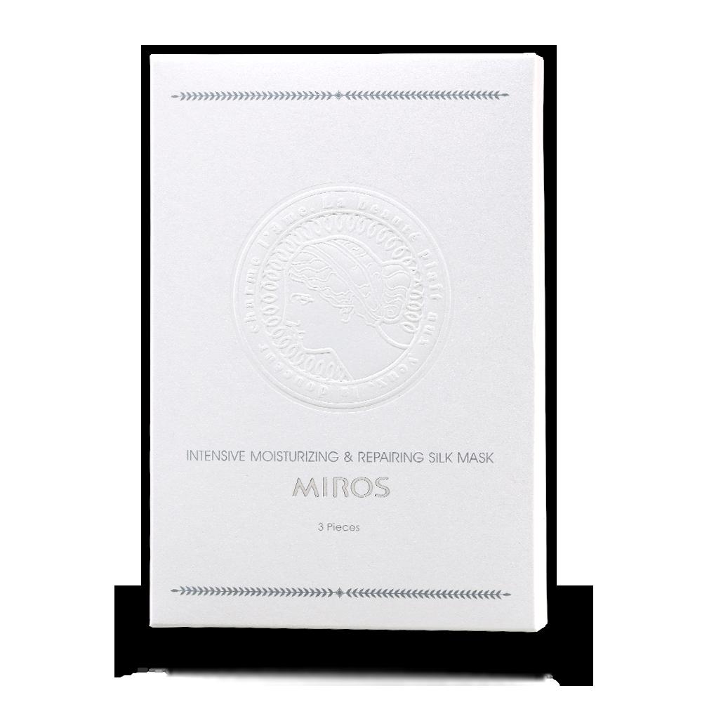 高保濕婙白修護蠶絲面膜五入盒裝(5片裝 / 5x0.8fl. oz. / 5x24ml e)